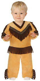 Baby Boys Native Indian Fancy Dress Costume