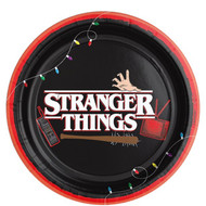 Stranger Things Party Plates
