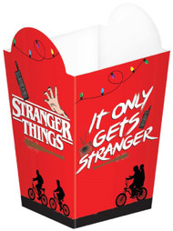Stranger Things Popcorn Containers