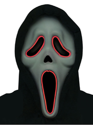 Adults Light Up Scream Mask