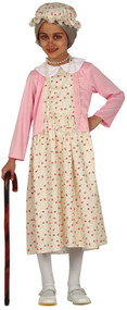 Girls Granny Fancy Dress Costume