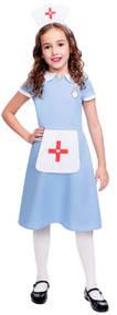 Girls Traditional Nurse Fancy Dress Costume