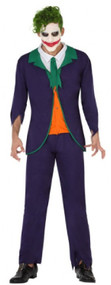 Mens Funny Villain Fancy Dress Costume
