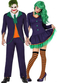 Couples Funny Villain Fancy Dress Costumes