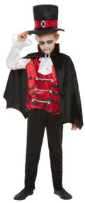 Boys Bat Vampire Fancy Dress Costume