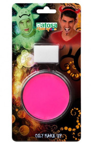 Pink Oil Face Paint Make Up