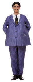Mens Gomez Addams Fancy Dress Costume