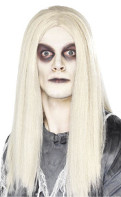 Adults Ghostly Long Fancy Dress Wig