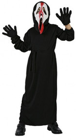 Child's Screaming Ghost Fancy Dress Costume