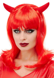 Ladies Devil Fancy Dress Wig