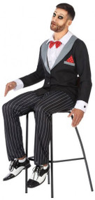Mens Ventriloquist Dummy Fancy Dress Costume