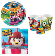 Top Wing Complete Party Tableware Set