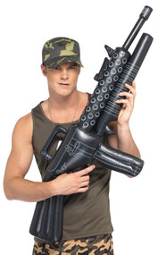 Inflatable Machine Gun Prop