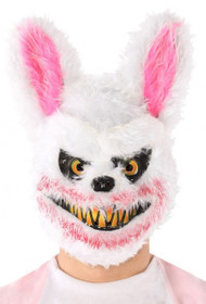 Adult Zombie Bunny Fancy Dress Mask