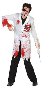 Mens Dead Doctor Fancy Dress Costume