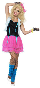 Ladies 80s Diva Fancy Dress Costume