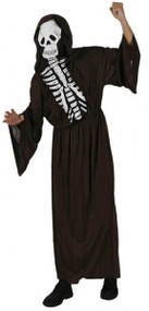 Adult Skeleton Fancy Dress Costume