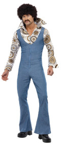 Mens Groovy Guy Fancy Dress costume