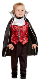 Toddler Vampire Fancy Dress Costume