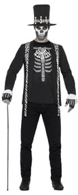 Mens Dark Witch Doctor Fancy Dress Costume