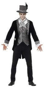 Mens Dark Hatter Fancy Dress Costume