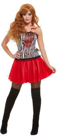 Ladies Deluxe Knife Throwers Assistant Fancy Dress Costume