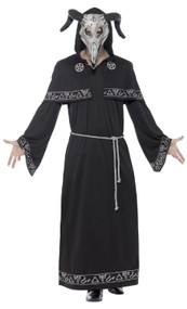Mens Cult Leader Fancy Dress Costume