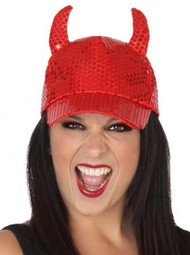 Ladies Devil Baseball Cap