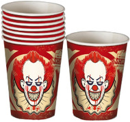 Horror Clown Party Cups