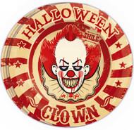 Horror Clown Party Plates