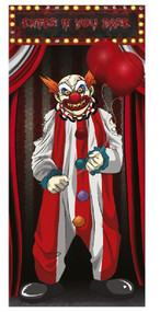 """Enter If You Dare"" Circus Door Decoration"