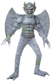 Boys Winged Gargoyle Fancy Dress Costume