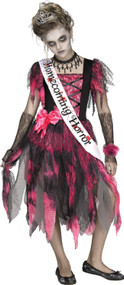 Girls Homecoming Horror Fancy Dress Costume