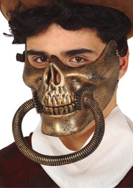 Mens Steampunk Skeleton Mask