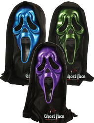 Adults Scream Movie Metallic Masks