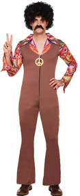 Mens 70s Hippy Fancy Dress Costume