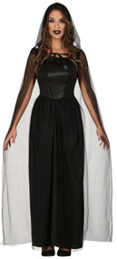 Ladies Haunted Horror Fancy Dress Costume