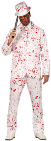 Mens Blood Splattered Fancy Dress Costume Suit