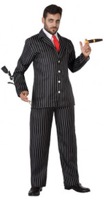 Mens Creepy & Kooky Husband Fancy Dress Costume