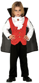 Boys Blood Vampire Fancy Dress Costume