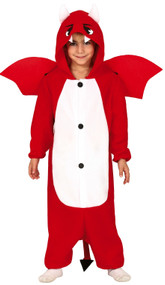 Childs Devil Dragon Fancy Dress Costume
