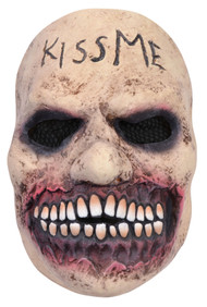 Mens Horror Kiss Me Halloween Mask