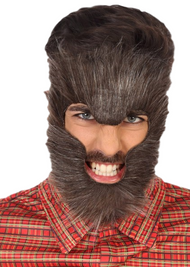 Adult Brown Werewolf Hair Mask