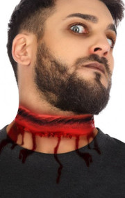 Adult Slit Throat Halloween Special Effects