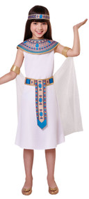 Girls Historical Egyptian Fancy Dress Costume