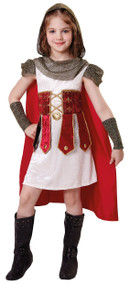 Girls Roman Princess Fancy Dress Costume