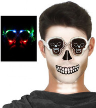 Adult Light Up Skeleton Glasses