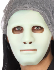 Adult Glow in the Dark Fancy Dress Mask