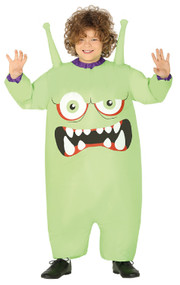 Childs Inflatable Monster Fancy Dress Costume