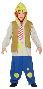 Boys Cartoon Zombie Fancy Dress Costume